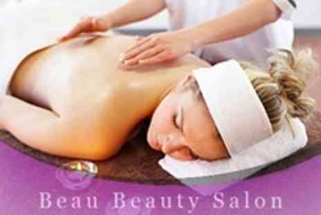 Beau Beauty - One Hour Full Body Massage and Choice of Facial - Save 74%