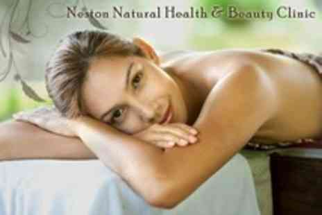 Neston Natural Health - Massage and Facial Package For One People - Save 59%