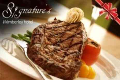 The Kimberley Hotel - Steak or Seafood Meal For Two - Save 37%