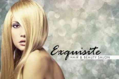Exquisite Hair Salon - Half Head Highlights With Cut and Blow Dry - Save 79%