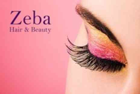 Zeba Hair and Beauty - Eyelash Extensions Plus HD Brows - Save 50%