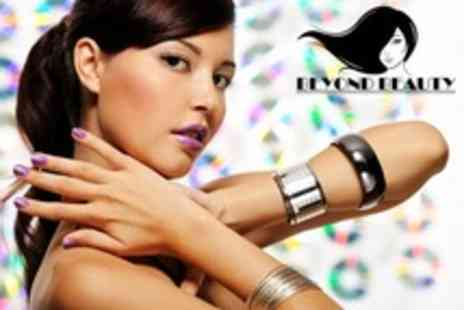 Beyond Beauty - Manicure and Pedicure - Save 52%