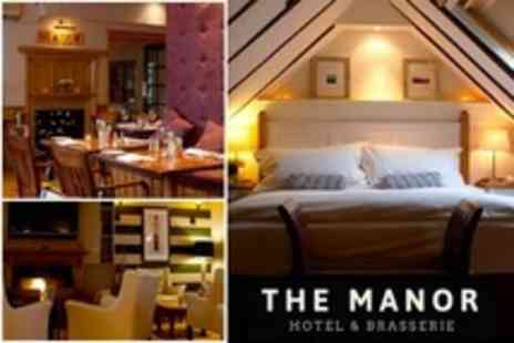 The Manor Hotel - One Night Stay For Two With Full English Breakfast - Save 50%