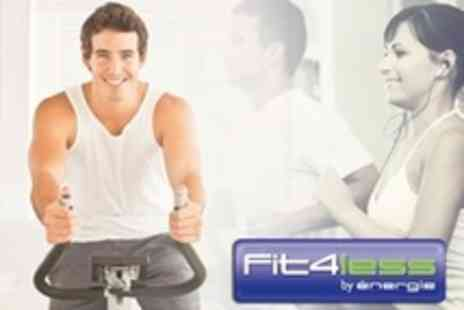 Fit4less Tower Hill - One Month Tower Hill Gym Membership - Save 74%