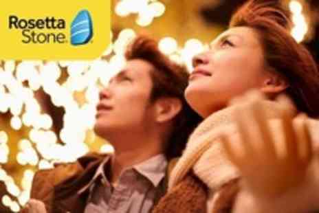 Groupon Shop - 12 Months Online Access to Rosetta Stone Language Learning With 24 Languages to Choose - Save 40%