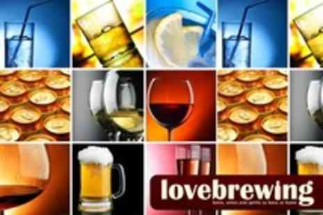 Love Brewing - Wine, Beer and Spirit Making Class For One - Save 73%