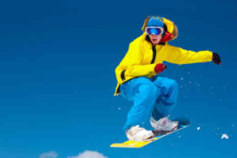 Active Nation - One-hour ski or snowboarding session including equipment and expert tuition  - Save 75%