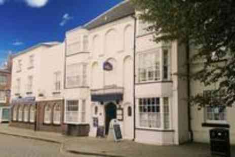 BEST WESTERN Talbot Hotel - Two night stay for two the historic market town of Leominster breakfast included - Save 50%