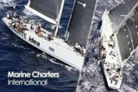 Marine Charters International - Return Sailing Trip to Cowes for Two People on a Yacht - Save 78%