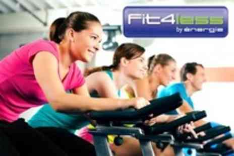 Fit4less - Ten Gym Passes Plus One Personal Training Session - Save 50%