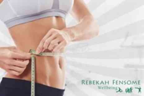 Rebekah Fensome Wellbeing - Hypnotherapy Three Weight Management Sessions - Save 34%