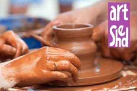 Artshed Arts - Pottery Making Class For One - Save 44%