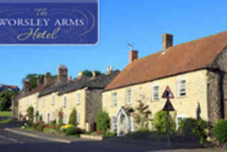 The Worsley Arms Hotel - Getaway for two to a gorgeous Georgian hotel - Save 48%