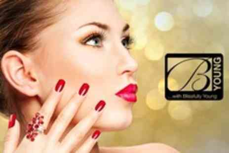 Blissfully Young - Dermalogica Facial and OPI Gel Manicure - Save 64%