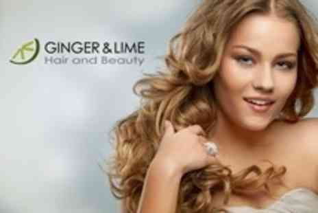 Ginger and Lime - Cut and Blow Dry With MOROCCANOIL Treatment - Save 63%