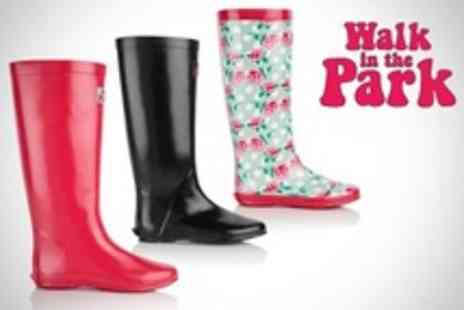 Clever Pretty Shoes - Walk in the Park Winter Folding Wellies - Save 67%