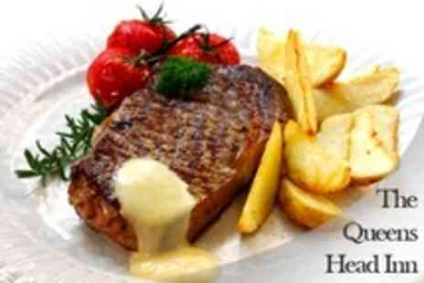 Queens Head - Three Course British Meal For Two - Save 60%
