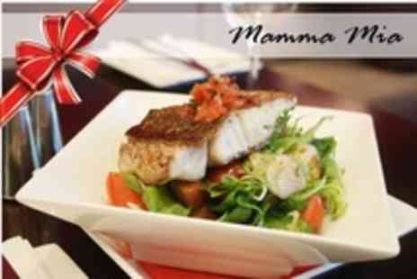 Mamma Mia - Four Course Italian Christmas Meal With Prosecco and Appetisers For Two - Save 50%