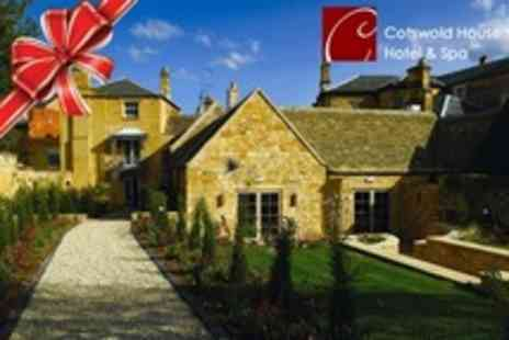 Cotswold House Hotel - In Cotswolds One Night Stay For Two With Evening Meal and Access to Award Winning Spa - Save 56%