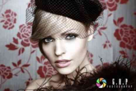 Gap Photography - Vintage Photoshoot With Make Up, Hairstyling, and Print, Plus Free iPad Case - Save 24%