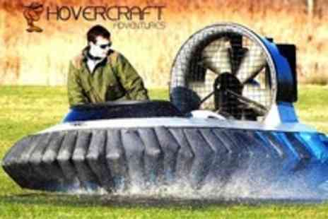 Hovercraft Adventures - Hovercraft Session With Training and Five - Save 61%