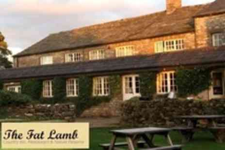 The Fat Lamb - In Lakes and Dales Two Nights For Two With Breakfast - Save 50%