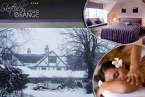 Sketchley Grange Hotel and Spa - In Hinckley One Night Spa Stay For Two With Breakfast - Save 62%