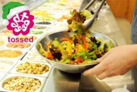 Tossed - Wraps, Salads, Smoothies and More - Save 50%