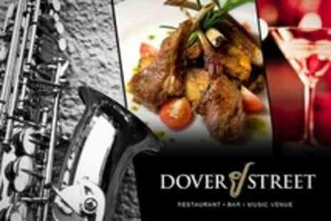 Dover Street - Jazz Night With Four Course Meal and Bellini - Save 61%