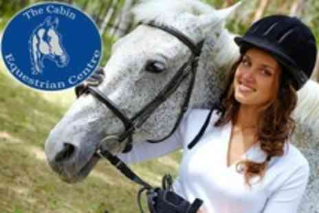 The Cabin Equestrian Centre - Two Hour Horse Riding Experience For One - Save 61%
