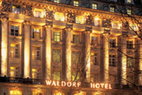 The Waldorf Hilton Hotel - Champagne Afternoon Tea for Two at The Waldorf - Save 46%