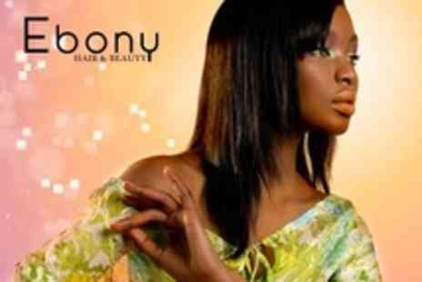 Ebony Hair and Beauty - Cut and Blow Dry With Conditioning and Head Massage - Save 66%