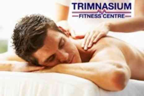 Trimnasium - Deep Tissue Sports Massage With Personal Training Session - Save 68%
