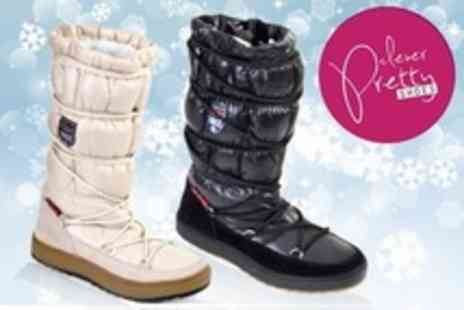 Clever Pretty Shoes - Womens Snow Boots in Choice of Colour - Save 74%