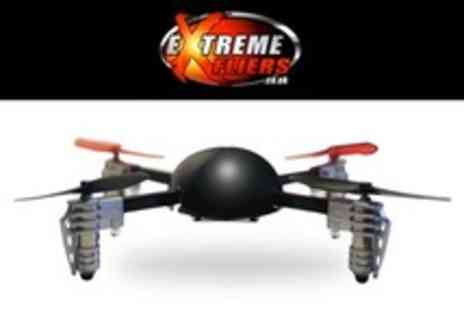 Extreme Fliers - Remote Controlled Micro Drone Quadcopter - Save 43%