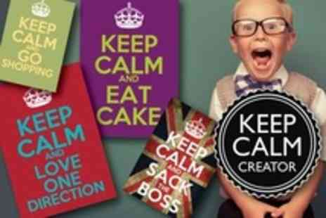 keep-calm-posters.co.uk - Personalised Keep Calm Posters - Save 60%