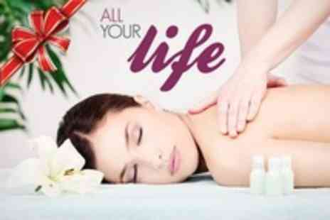 All Your Life - Pamper Package For Two Plus Afternoon Tea - Save 50%