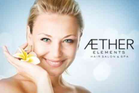 Aether Elements - Choice of One Hour Facial Plus Polish For Hands and Feet - Save 78%