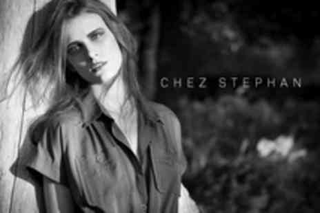 Chez Stephan - Half Head Highlights or Full Head Colour With Trim and Blow Dry Plus Conditioning - Save 63%