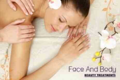 Face and Body Beauty Treatments - Facial, Massage and Mini Manicure For One - Save 54%