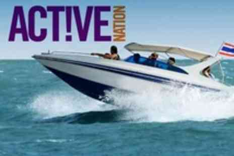 Active Nation - Powerboat Ride For One - Save 56%