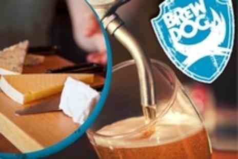 BrewDog Nottingham - Tasting Session For Two With Five Craft Beers Plus a Cheese and Meat Platter - Save 14%
