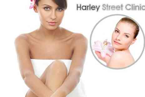 Harley Street Clinic  Course of Soprano Pain Free Laser Hair Removal - Save 78%