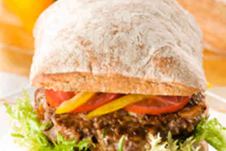 The Northumbrian Piper - Burger with Chunky Chips and Salad for Two - Save 51%