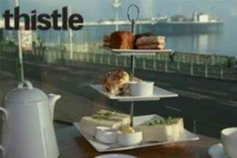 Thistle Hotel Brighton - Seafront Afternoon Tea For Two - Save 58%