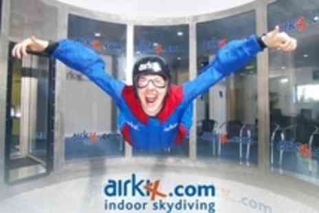Airkix - Five Flights For One People With DVD and Digital Photo - Save 56%