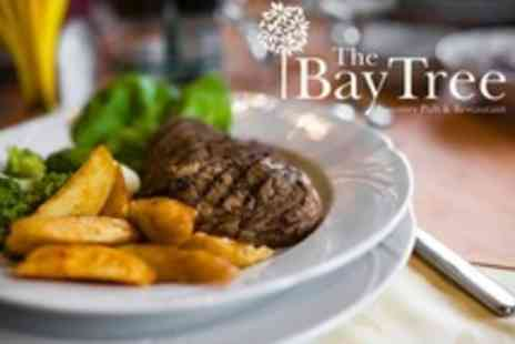 The Bay Tree - Sirloin Steak or Fish and Chips For Two - Save 60%