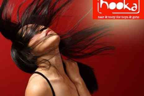 Hooka - Cut, Restyle & Blowdry, plus L'Oreal Conditioning Hair Treatment with Style Director - Save 60%