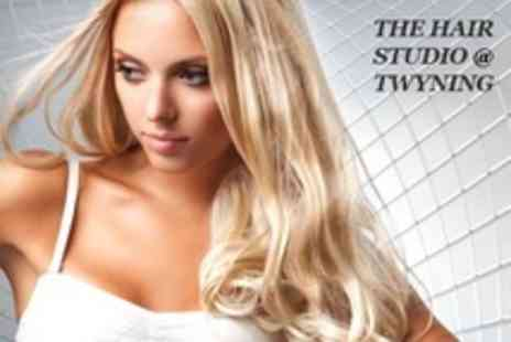 The Hair Studio - Half Head of Highlights With Cut and Finish - Save 60%