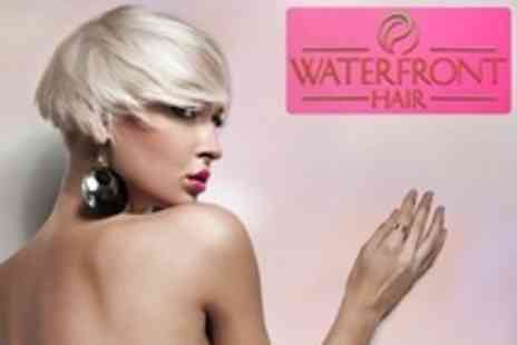 Waterfront Hair - Half Head Highlights With Cut, Conditioning Treatment and Blow Dry - Save 70%